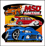 MSD Ignition Import Racer Shirts