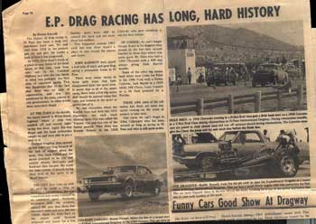 Auto Racing Paso Texas Area on Southwestdrags   El Paso Texas Area Drag Racing